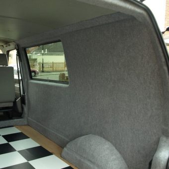 campervan carpet lining and insulation