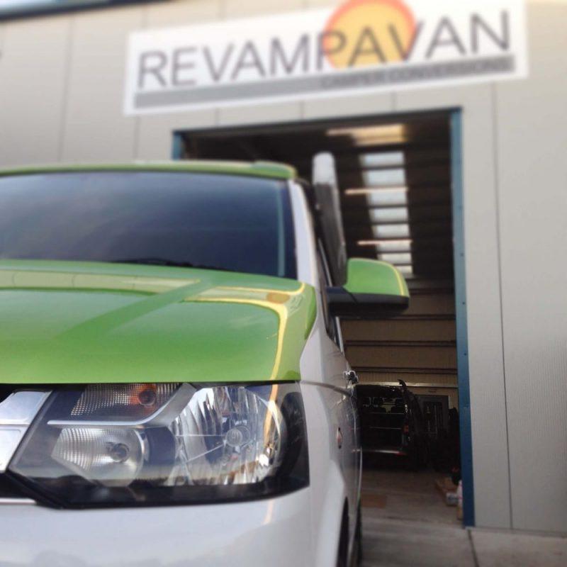 Revampvan Viper Green Campervan Conversion