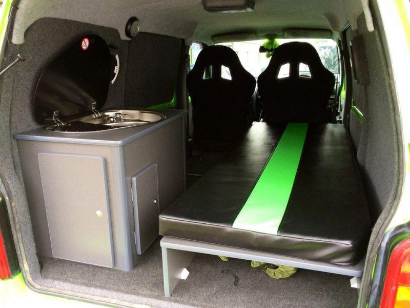 Surf Van Small Vans Vauxhall Vivaro Rear Conversion