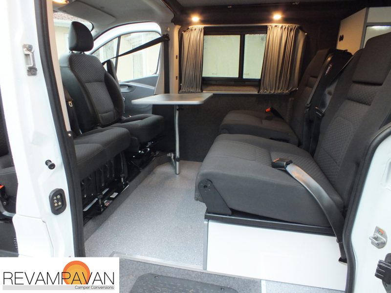 Vauxhall Van Conversion - Kitchen Station