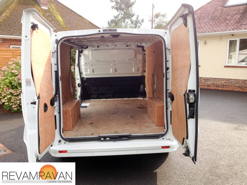 Vauxhall van conversion - units