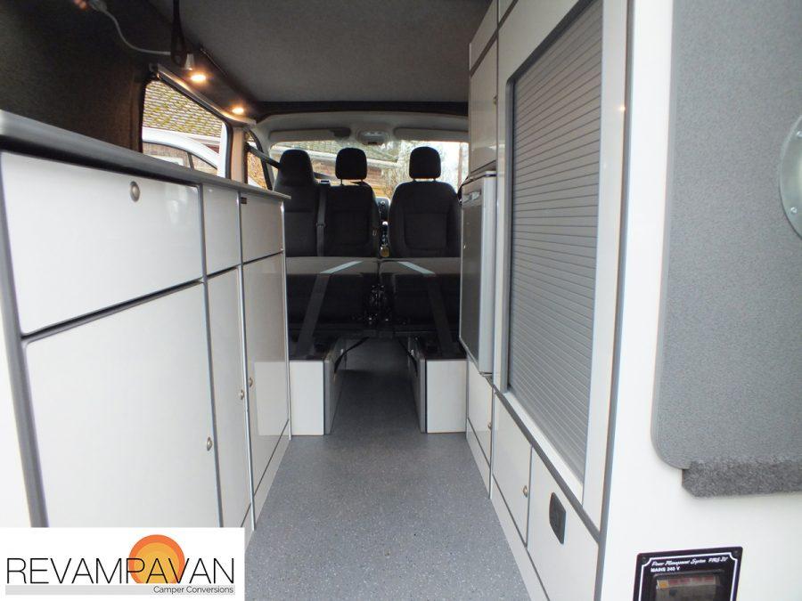 Vauxhall Vivaro Van Rear Conversion Case Study Revampavan