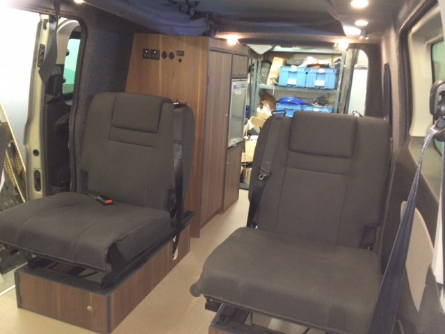 Ford Transit Van >> Ford Transit custom rear conversion - Revampavan, UK