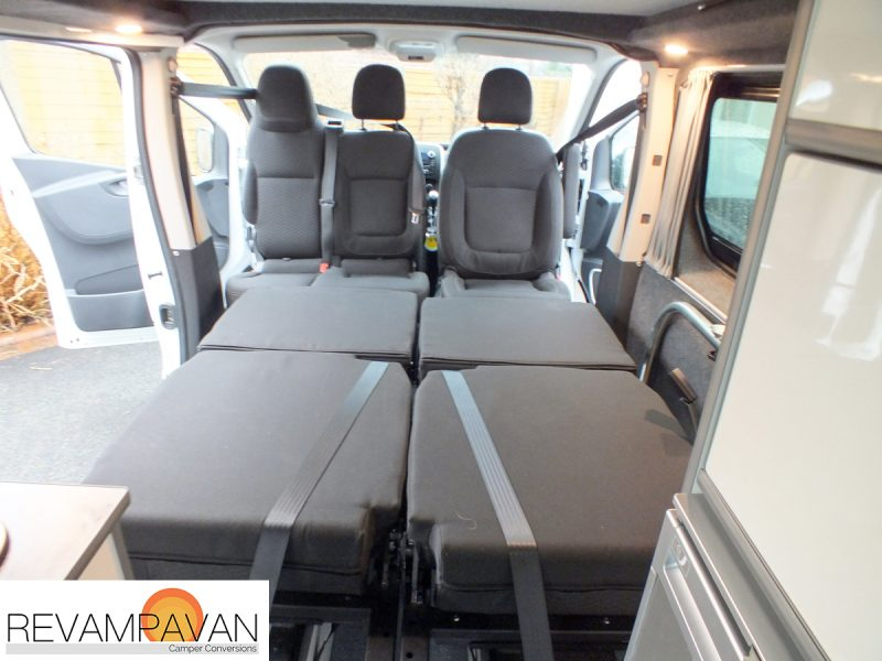 Vauxhall Van Conversion - Seating