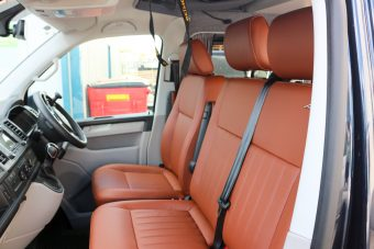Revampavan®VolkswagenbConversion Brown Leather April