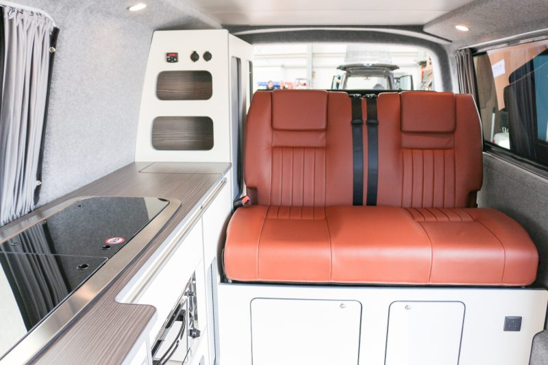 Revampavan® Volkswagen Conversion Brown Leather April