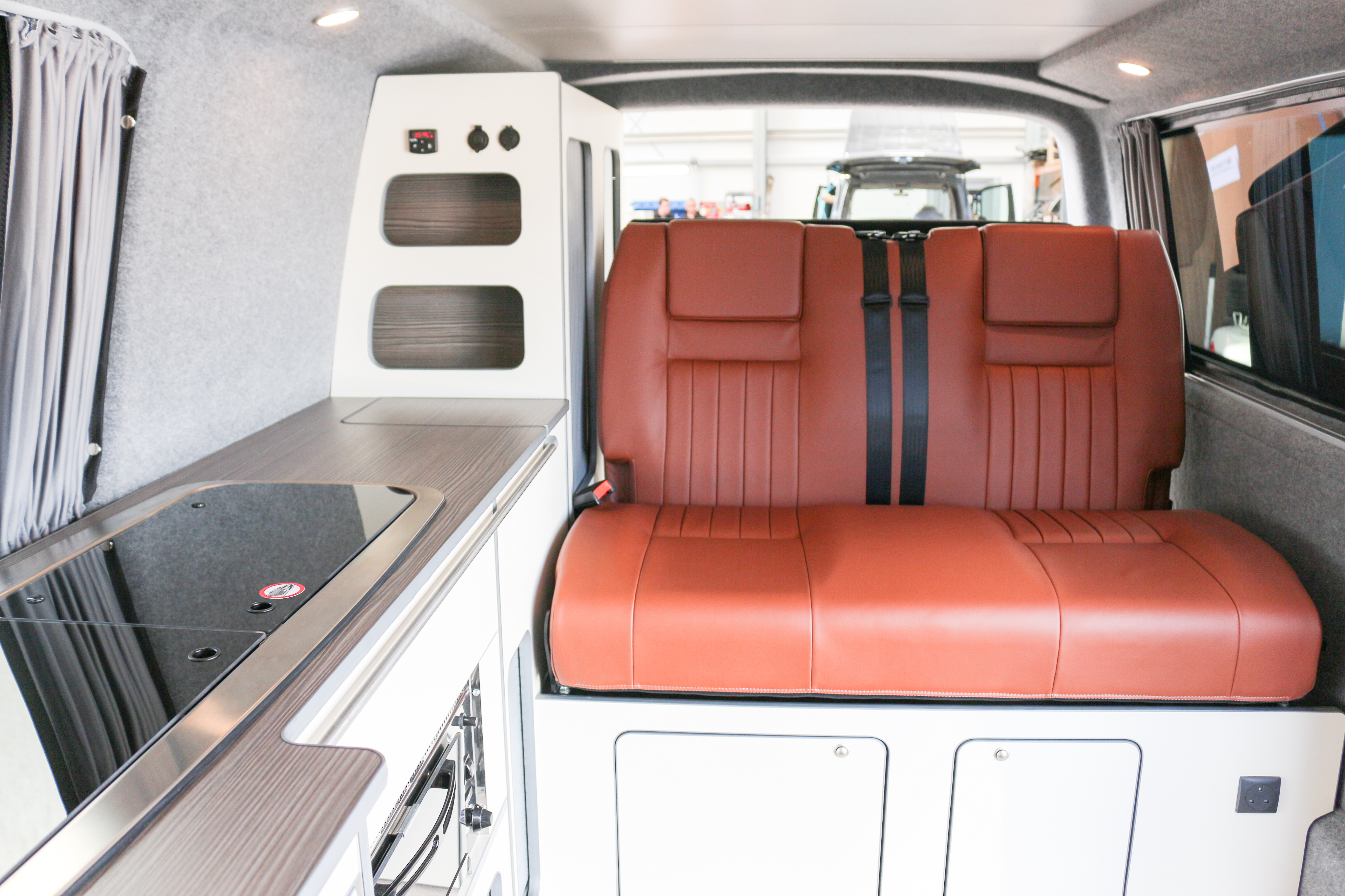 Revampavan® Volkswagen Conversion Brown Leather April