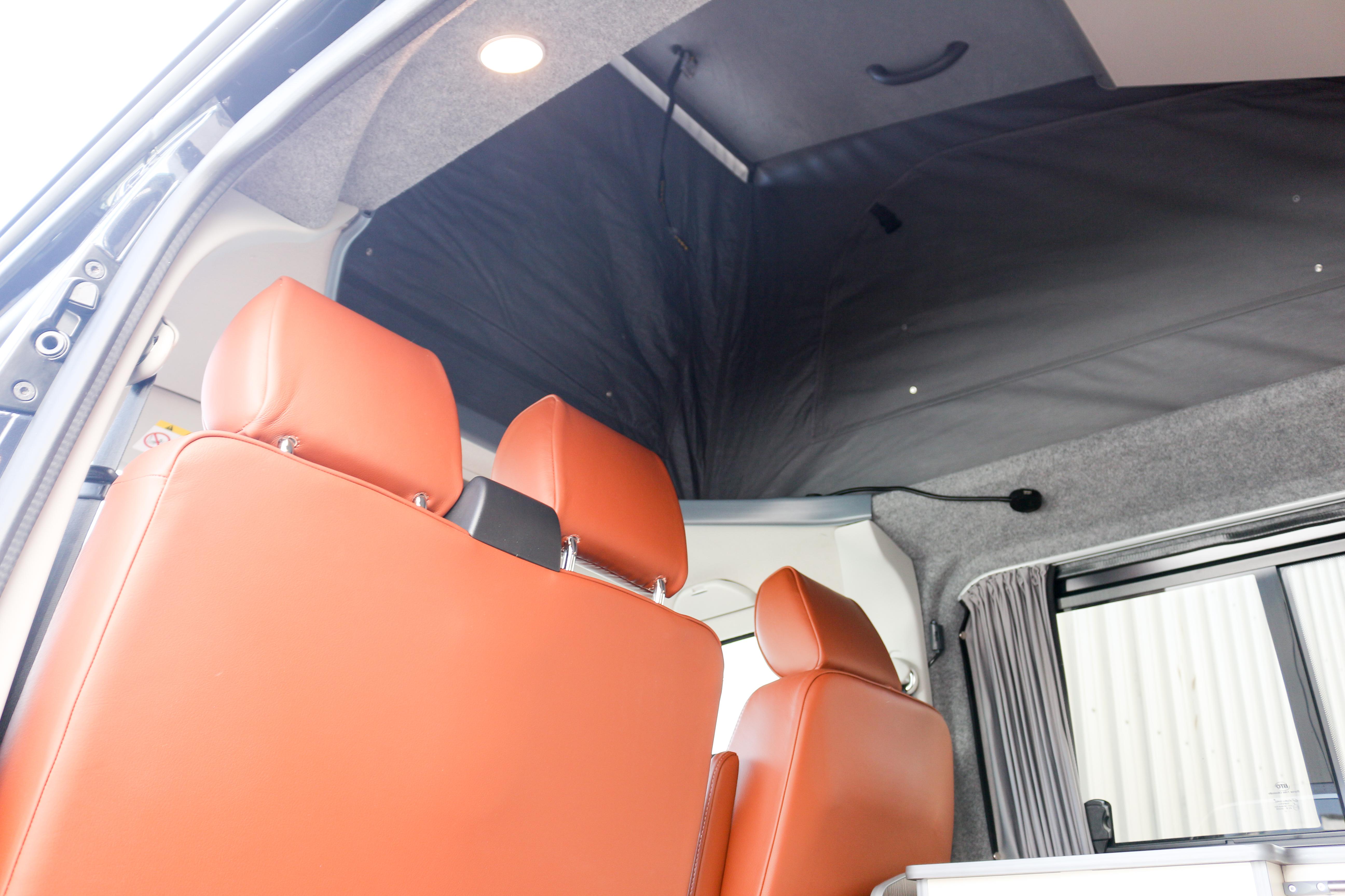 Revampavan®Volkswagen Conversion Brown Leather April