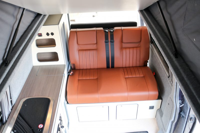 Revampavan®Volkswagen Conversion Brown Leather April