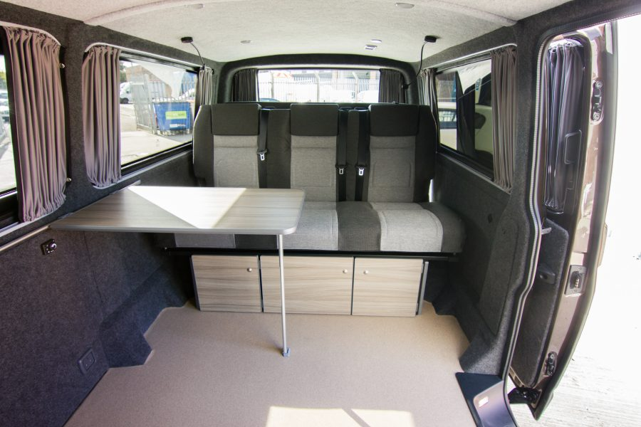 VW Van Conversion - Callapsible Table
