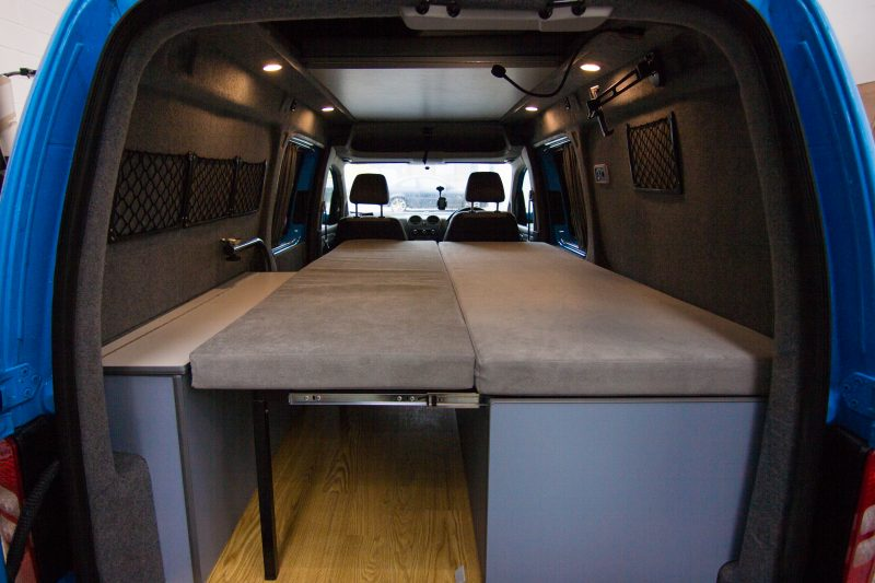 Waveline Caddy in Denim Blue VW Van Conversions