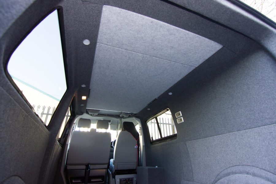 Vw T5 Amp T6 Carpet Lining For Rear Interior Revampavan
